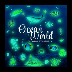 glow in the dark ocean stickers