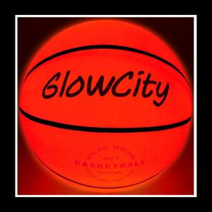 glowcity glow in the dark basketball