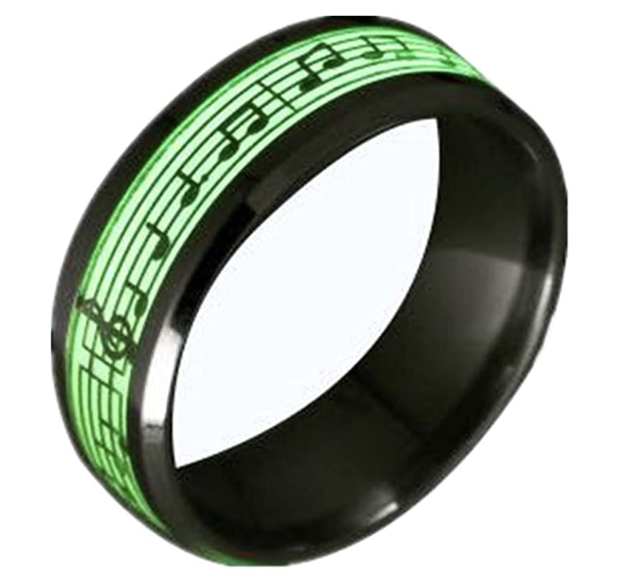 piano musical notes glowing ring 1