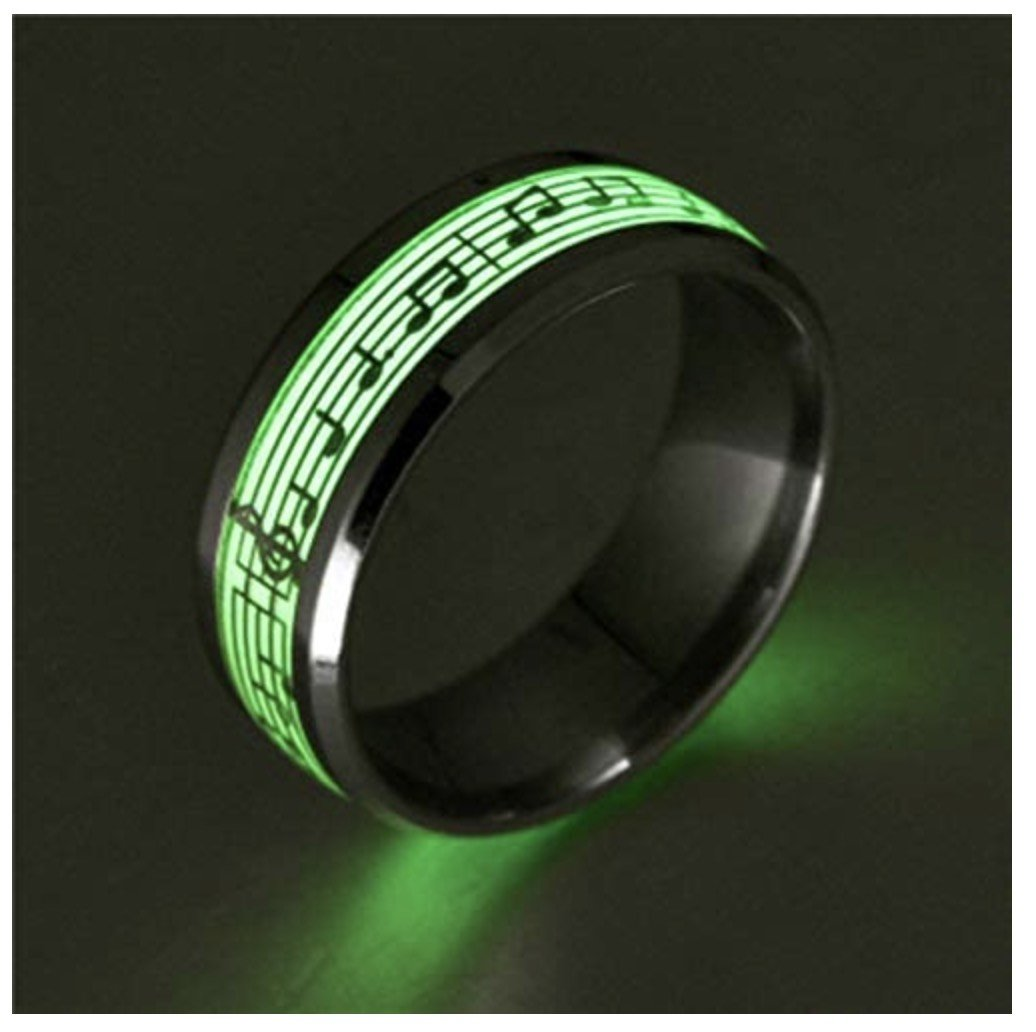 piano musical notes glowing ring 2