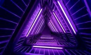 purple neon background vortex
