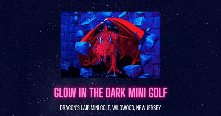Dragons Lair Mini Golf Wildwood New Jersey