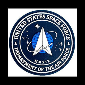 GLOW IN THE DARK SPACE FORCE PATCH