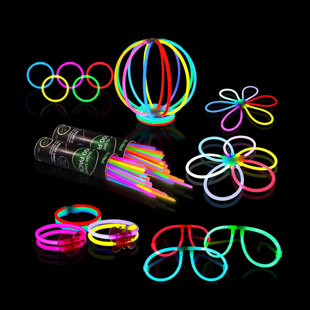 Glow sticks pack review