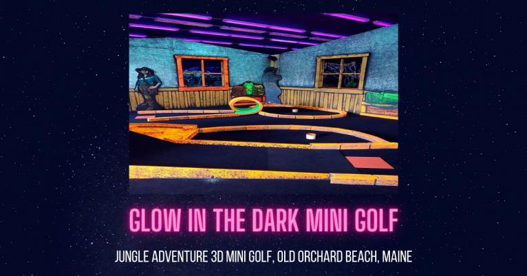 Jungle Adventure 3D Mini Golf Old Orchard Beach Maine