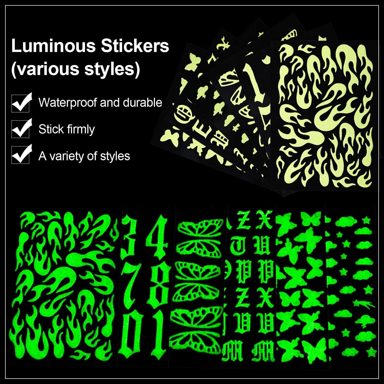 Kalolary nail stickers 4