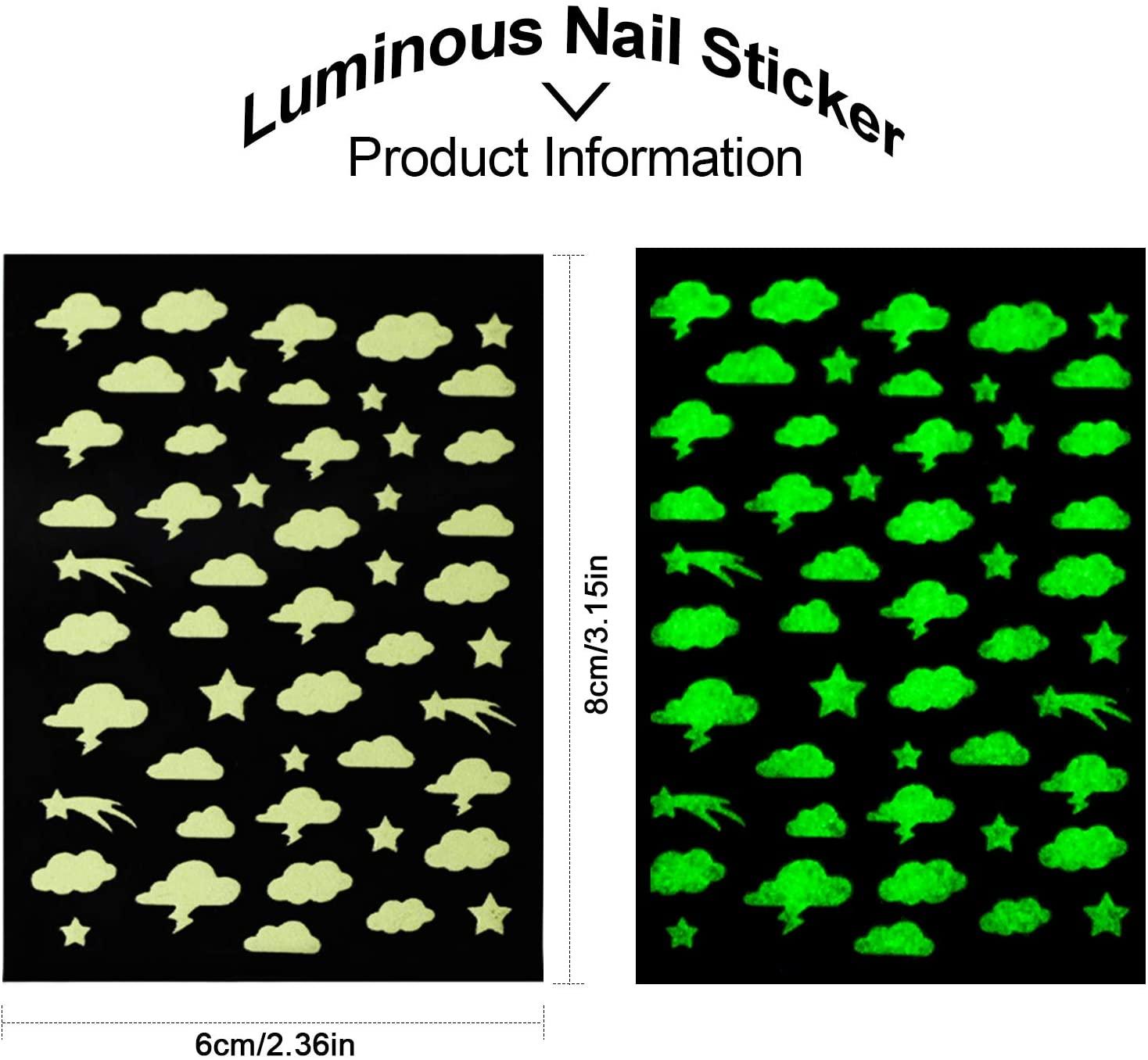 Kalolary nail stickers 7