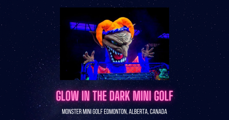 Monster Mini Golf Edmonton Alberta Canada