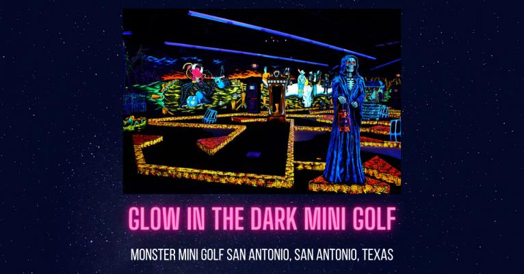 Monster Mini Golf San Antonio San Antonio Texas