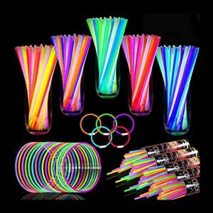 Set of 500 glow sticks review