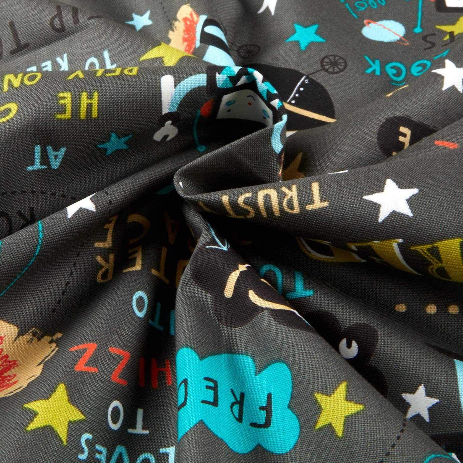 Super Fred quilt fabric 3