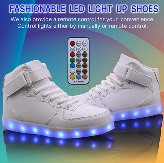 Wonzom LED shoes 2