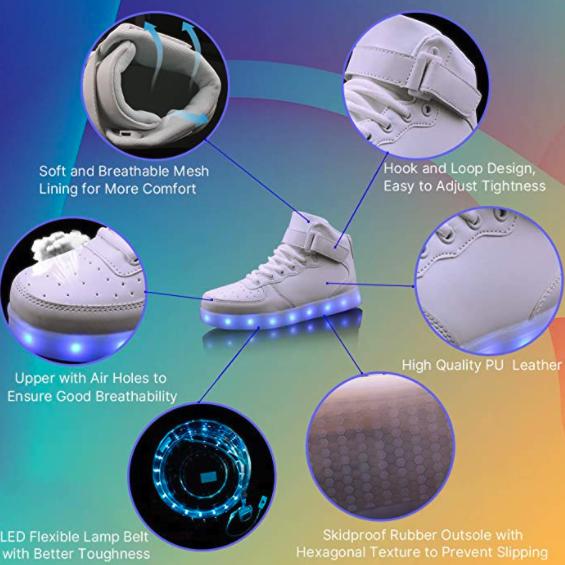 Wonzom LED shoes 3