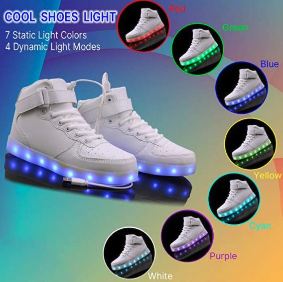 Wonzom LED shoes 4