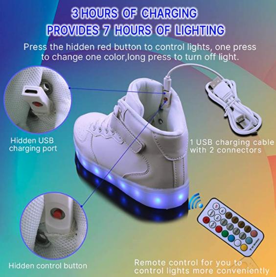 Wonzom LED shoes 5