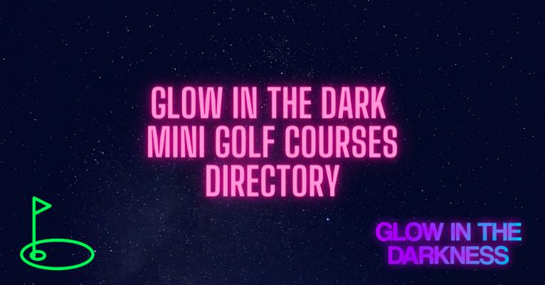 directory black light mini golf
