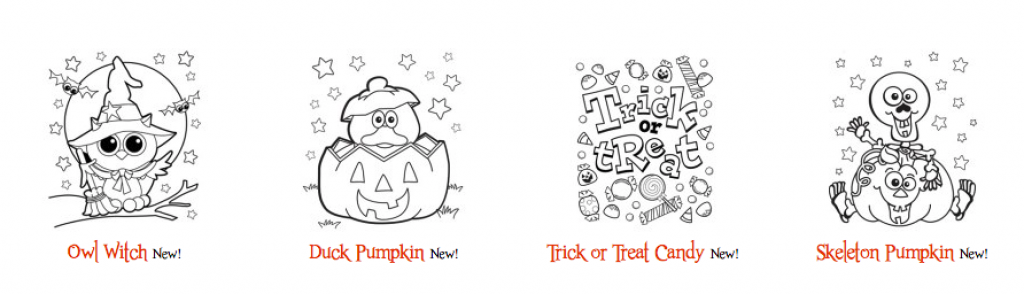 free halloween coloring pages free fun halloween