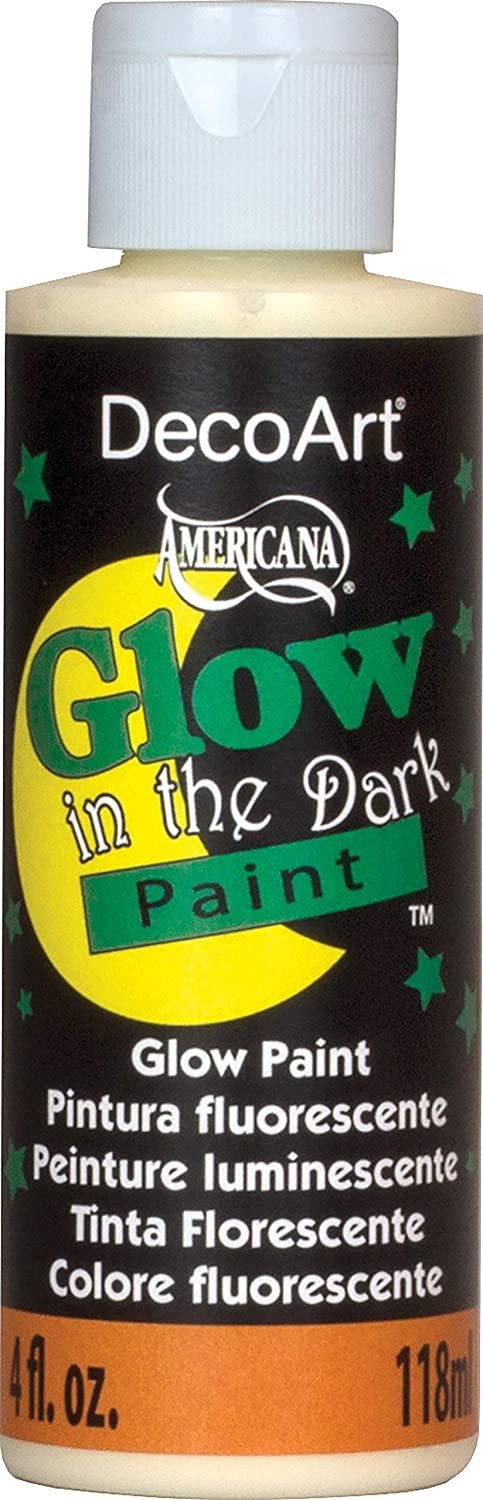 glow in the dark paint for walls