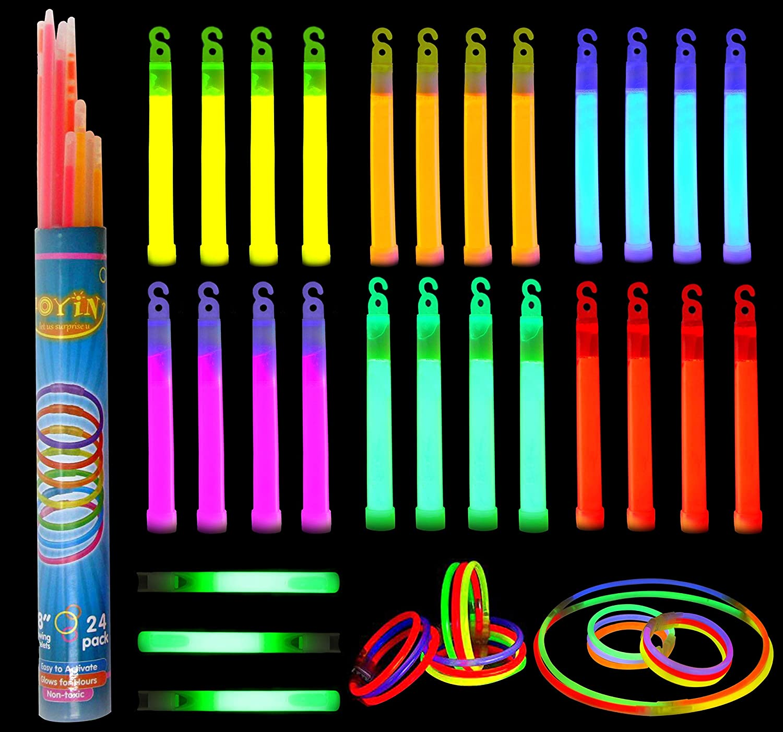 whistle shape glow sticks and long sticks 1
