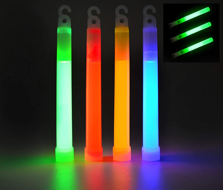 whistle shape glow sticks and long sticks 3