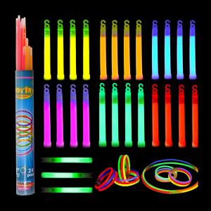 whistle shape glow sticks and long sticks