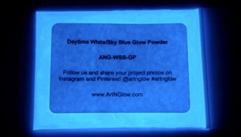 Art 'n Glow Pigment Powder for Glow in the Dark Epoxy Resin, detailed review