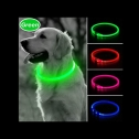 BSeen Light Up LED Glow in the Dark dog collar, detailed review