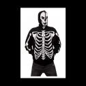 Calhoun glow in the dark Skeleton Zip Hoodie Jacket, detailed review