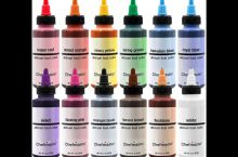 Chefmaster glow in the dark neon Air Brush food coloring, detailed review