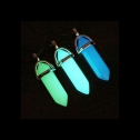 URBeauty pack of 3 Glow in the Dark necklaces with crystal gem pendant, detailed review