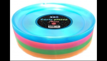 EDI Hard Plastic Glow in the Dark Plates, detailed review