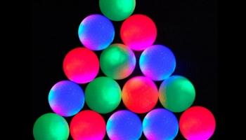 EliteShine LED glow in the dark golf balls set, detailed review