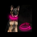 Ezier Light Up LED Glow in the Dark dog collar, detailed review