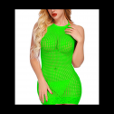 Glow in the dark FasiCat mesh mini dress, full review