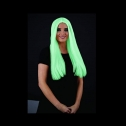Fun Shack Glow in the Dark hair women's wig, detailed review