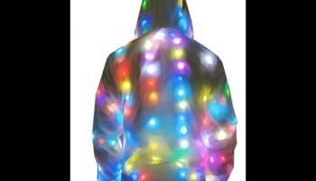 Generic Unisex party glow in the dark jacket, detailed review