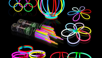 Glow Sticks for glow in the dark party review