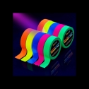 Glowsland glow in the dark fluorescent party tape, detailed review