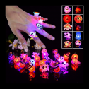Pack of 50 Halloween glowing rings, full review