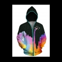 Honeystore battery powered 3D glow in the dark jacket, detailed review