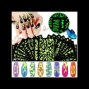 Kalolary 18 sheets of Glow in the Dark nail art stickers, detailed review