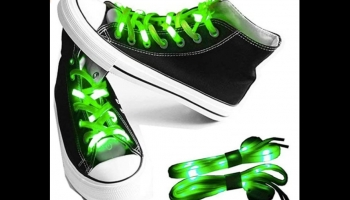 LKDEPO light up LED Glow in the Dark Shoe Laces, detailed review