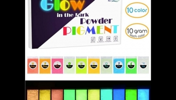 Limino Pigment Powder for Glow in the Dark Epoxy Resin, detailed review