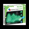 Magna-Tiles educational Glow in the Dark game for children, detailed review