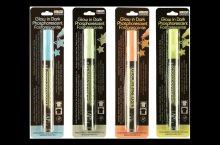 Marvy Uchida Set of 4 DecoFabric Glow in the Dark Markers, detailed review