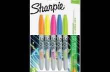 Neon Sharpies UV black light Glow in the Dark Markers, detailed review
