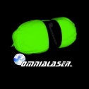 Omnialaser Light Reagent Wool Glow in the Dark Yarn, detailed review