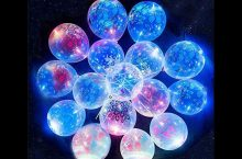 Printed floral LED Flashing Glow in the Dark Balloons, detailed review