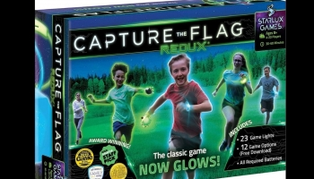 Redux Original Capture the Flag Glow in the Dark game, detailed review