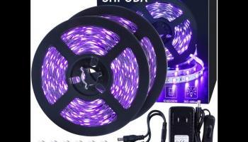 SHPODA 33ft LED Black Light Bulbs Strip Kit, detailed review